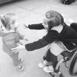 Shayla loves her little sister Taytum