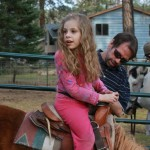Shayla riding her horse